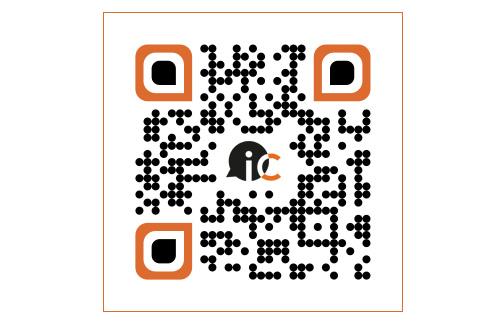 Código QR personalizado para iCharlas
