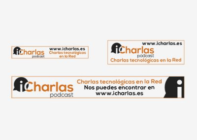 Banners publicitarios para iCharlas