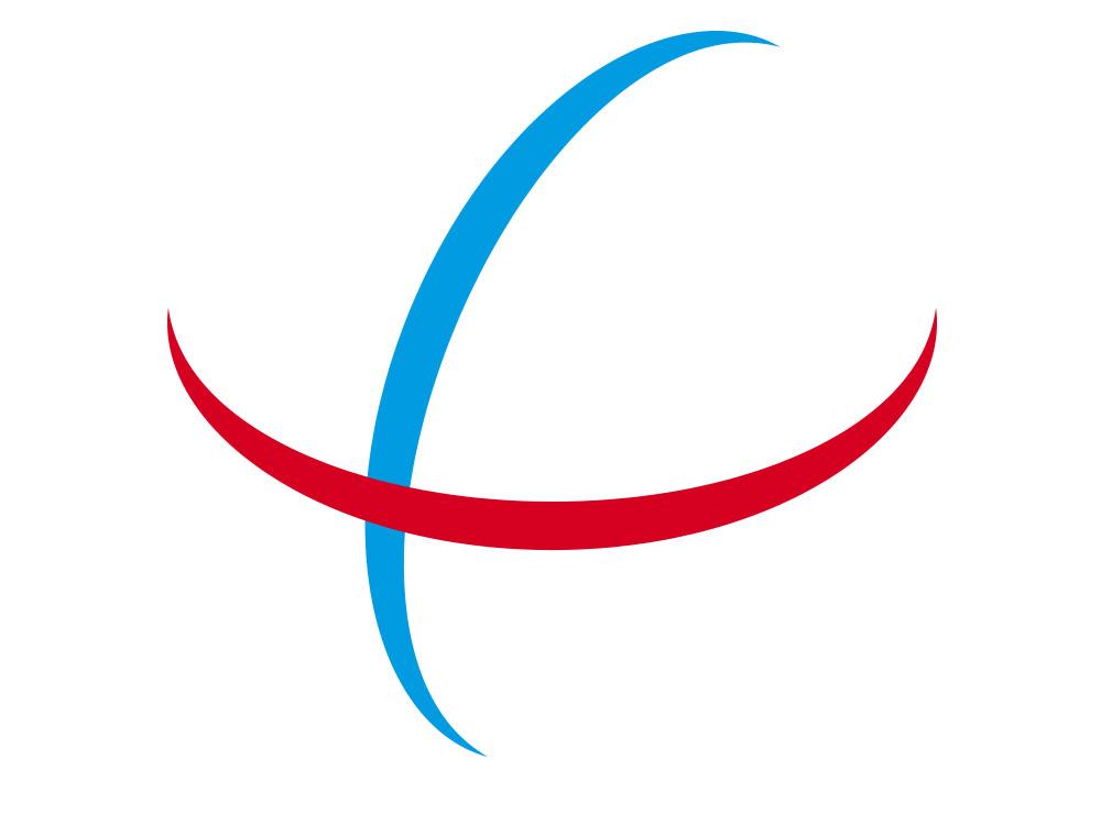 Símbolo Perseo, dos líneas a modo de paralelos terrestres.
