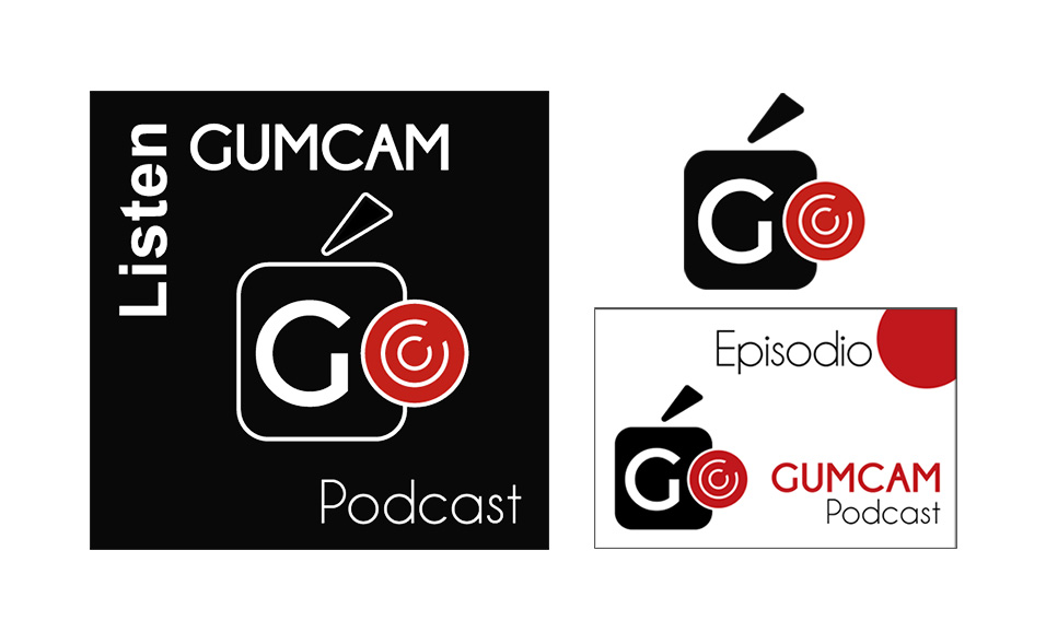 Imagen gráfica para el podcast del Gumcam