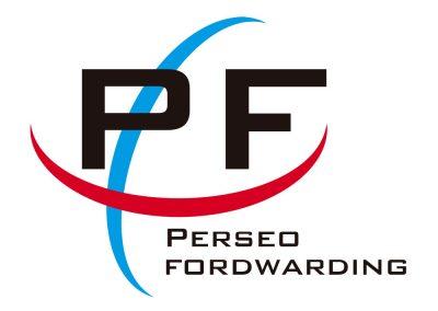 Versión cuadrada y reducida del logotipo principal de Perseo