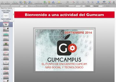 pPresentaciones Gumcam