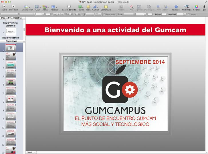 Presentaciones Gumcam