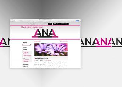 Ventana blog de Ana