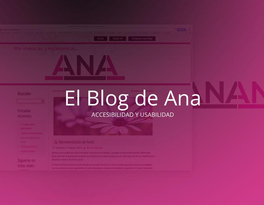 El blog de Ana