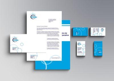 Manual de imagen corporativo Limpiezas Galán