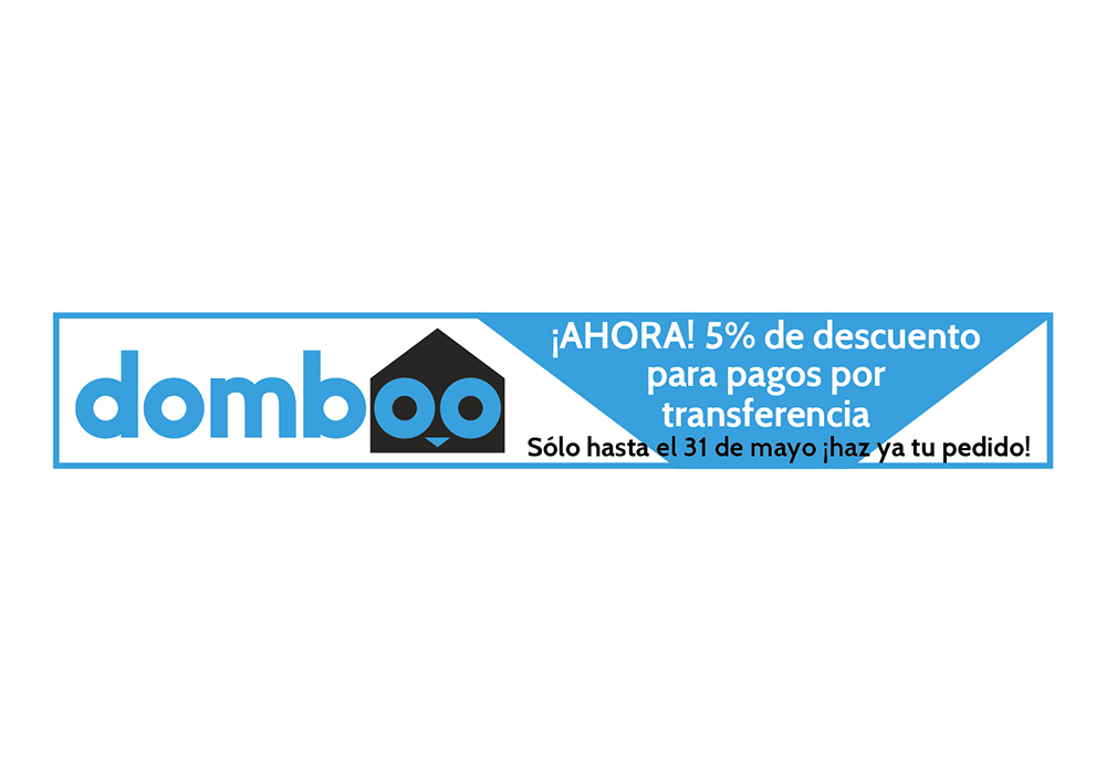 Banner web descuento domboo