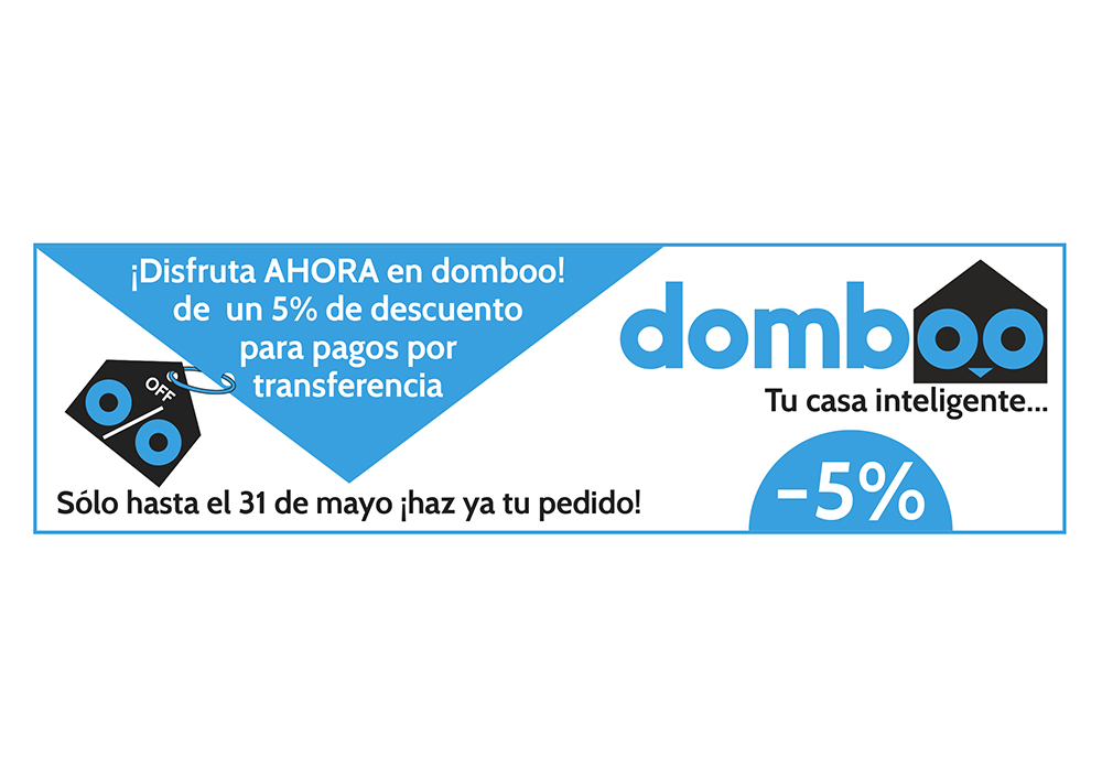 Banner descuento web domboo