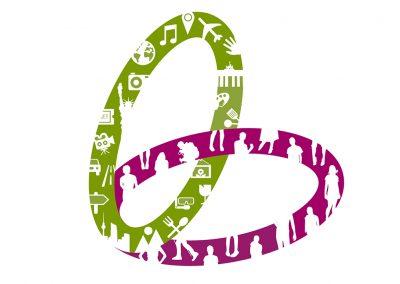 Símbolo con motivos de figuras lazzum
