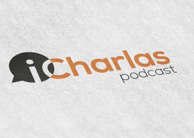 Logo principal impreso iCharlas