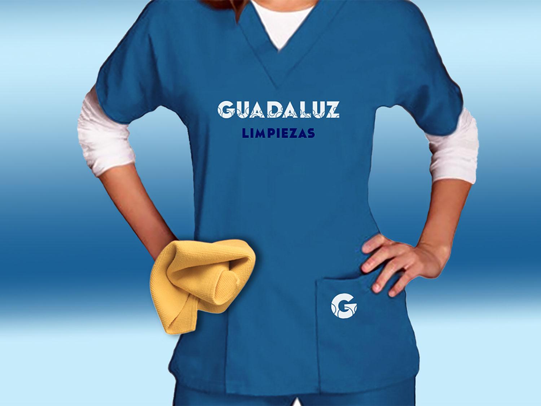 Uniforme azul para mujer Guadaluz