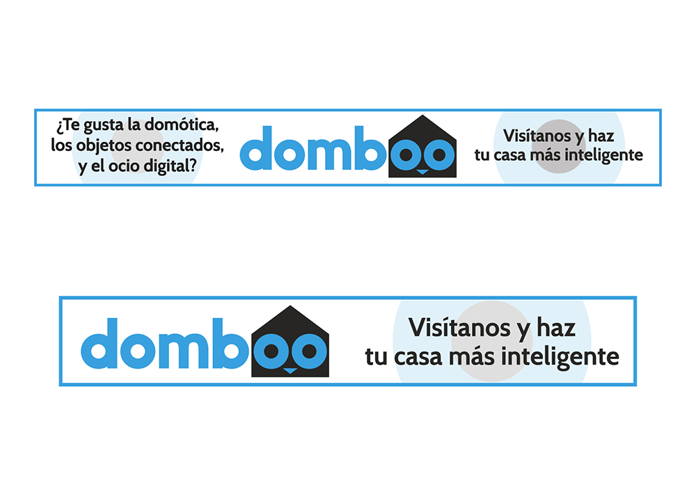 Banners publicitarios web domboo
