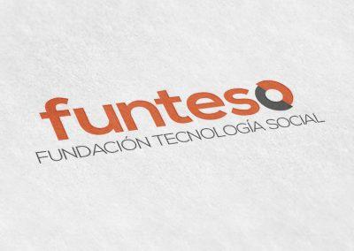 Logotipo impreso funteso