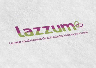 Logotipo impreso Lazzum