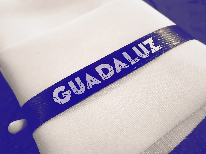 Logo impreso en cinta Guadaluz
