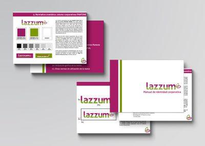 Manual de imagen corporativa lazzum