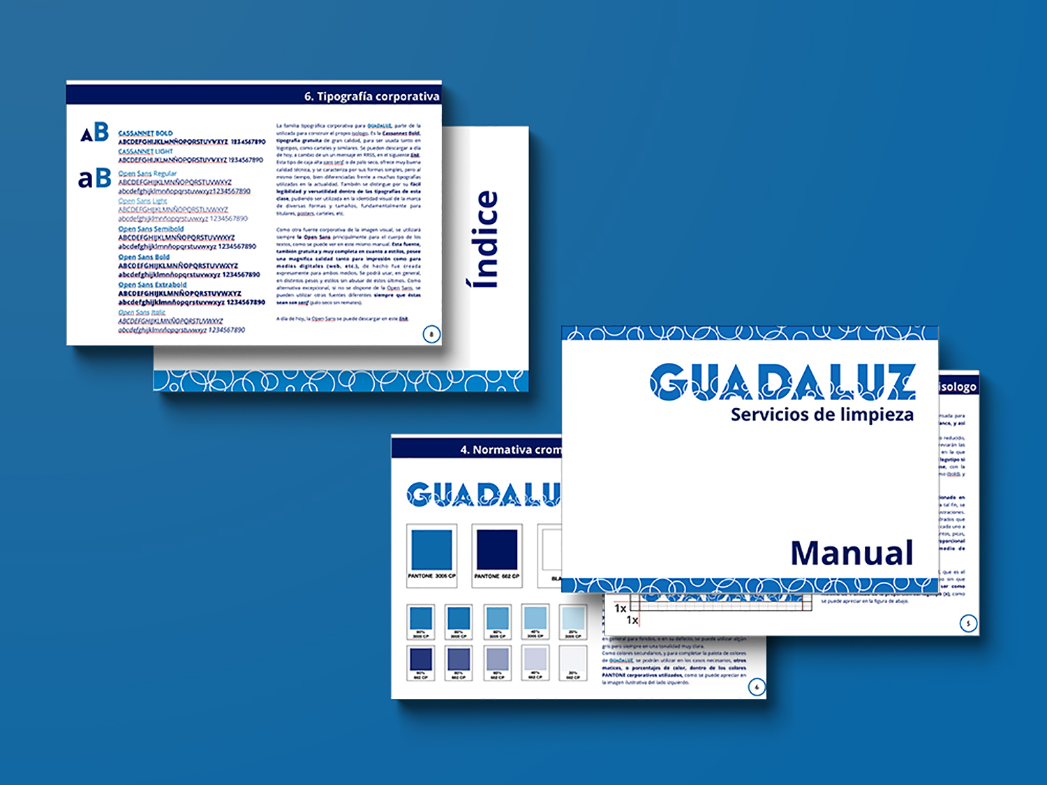 Manual de identidad visual corporativa Guadaluz