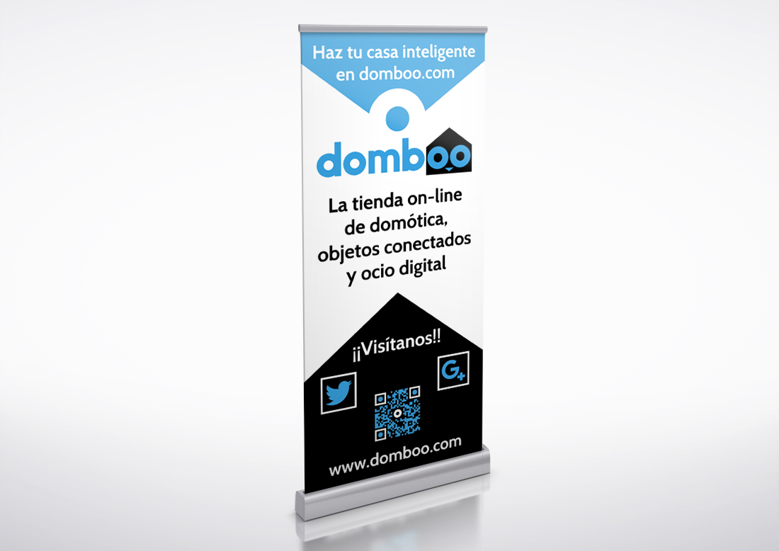 Roll-up publicitario domboo