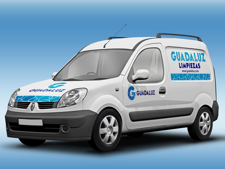 Vehículo publicidad Guadaluz